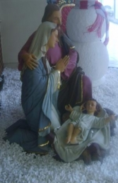 Holy Family model Life size (JR 2417) - Thumbnail 03