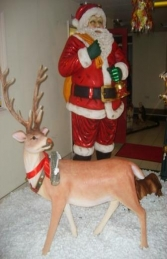 Reindeer with Long horns life-size model (JR 1558) - Thumbnail 02