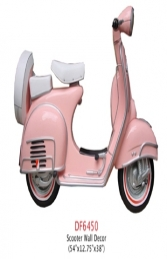 Pink Scooter (JR DF6450P) - Thumbnail 02