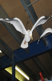 Seagull with Straight Wings (JR FSC1083sw) - Thumbnail 01