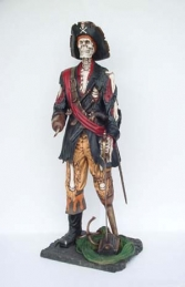 Skeleton Pirate 6ft (JR 2263) - Thumbnail 01