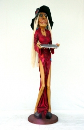 Skinny Witch Waitress 5.5ft (JR 1755)