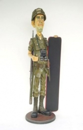 Soldier with Menu Board - British 5.5ft (JR 1885)	 - Thumbnail 01