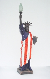Statue of Liberty with American Flag (JR 356AF) - Thumbnail 01
