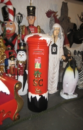 Santa's Mailbox 5ft (JR 130024) - Thumbnail 01