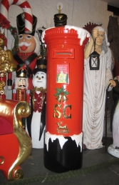 Santa's Mailbox 5ft (JR 130024) - Thumbnail 02