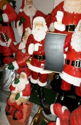 Santa with Menu Board ( JR CCMB4)