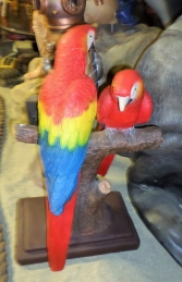 Scarlet Macaw Pair 3ft (JR DSM -1002) - Thumbnail 02
