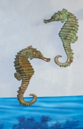 "Seahorse (set of 2) 24"" Hanging (JR 140054)"