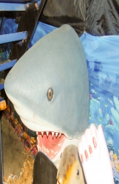 Shark Head -Great White (JR R-032) - Thumbnail 03