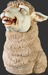Merino Sheep Head 1 (JR 110044) - Thumbnail 01