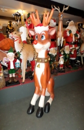 Reindeer Sitting 7ft (JR 140003)