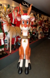 Reindeer Sitting 7ft (JR 140003) - Thumbnail 02