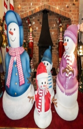 Snowman - Papa 6ft (JR S-022) - Thumbnail 03
