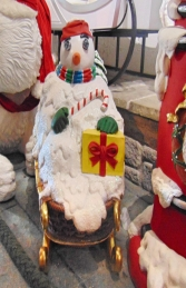 Snowman on Sleigh (JR 1772) - Thumbnail 03