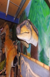 Theropod Head Wall Decor (JR 180097) - Thumbnail 01