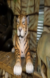Tiger Cub Lying- Large (JR 3316) - Thumbnail 01