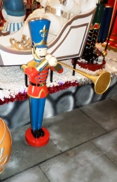Toy Soldier with Trumpet 4ft (JR 140009) - Thumbnail 03