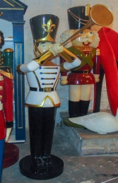 Toy Soldier with Trumpet 6ft (JR 140007WGB) - Thumbnail 02