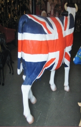 Union Jack Cow life-size (JR 1634UJ) - Thumbnail 02