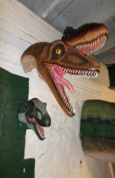 Velociraptor Head (JR ST6210)