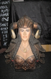 Viking Female Bust - (JR 2280)