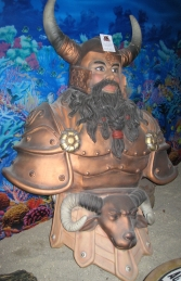 Viking Male Figurehead (JR 2448)