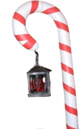Candy Cane with Lamp (JR CCWL)