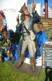 Captain Jack Sparrow style Pirate 6ft (JR DT)