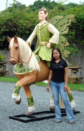 Fairy man on Horse (JR DY019) - Thumbnail 02