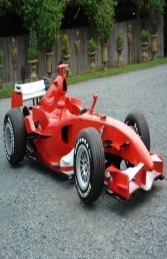 F1 Formula Race Car Red (JR FH) - Thumbnail 01