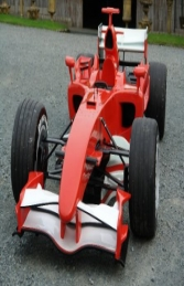 F1 Formula Race Car Red (JR FH) - Thumbnail 02