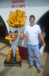 Chip Cone - French Fries 6ft (JR 1144) - Thumbnail 01