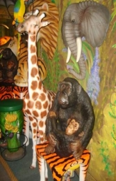 Monkey & Baby 2.5ft (JR 2196) - Thumbnail 02