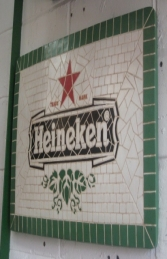 HE Mosaic Drink Sign (JR 2670)
