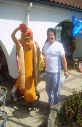 Hot-Dog Man 6ft (JR 1145) - Thumbnail 02