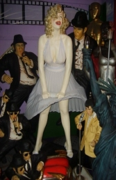 Marilyn Monroe Dress with electic fan Life-size (JR 2208)  - Thumbnail 01