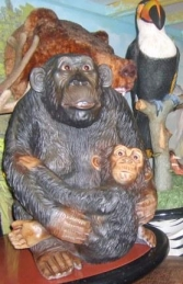 Monkey & Baby 2.5ft (JR 2196)