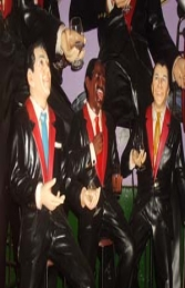 Rat Pack - Set of 3 figures 3ft (JR SETRP-3) - Thumbnail 02