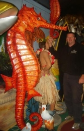 Seahorse 7.5ft Orange (JR 2209)