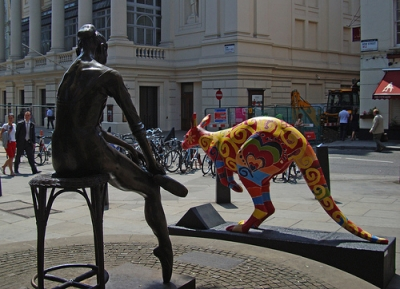 KANGAROO IN COVENT GARDEN