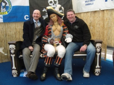 IAN HOLLOWAY WITH PIRATE AND I