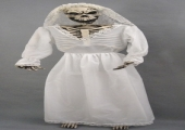 SKELETON BRIDE STANDING 6FT