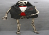 SKELETON GROOM STANDING 6FT