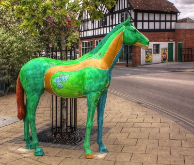 Horses on Parade - Newmarket