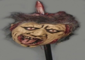 LIFESIZE HEAD ON STICK