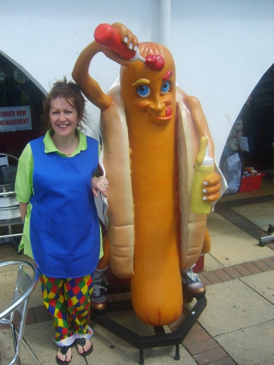 HOTDOG MAN IN DAWLISH
