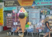 ICE CREAM 6FT - DAWLISH