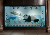 PANDA AND TUNA FISH - SELFRIDGES, LONDON